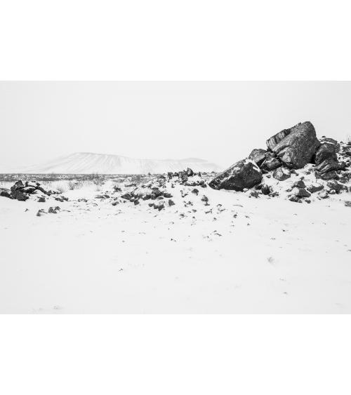 Paysage d'Islande, Myvatn