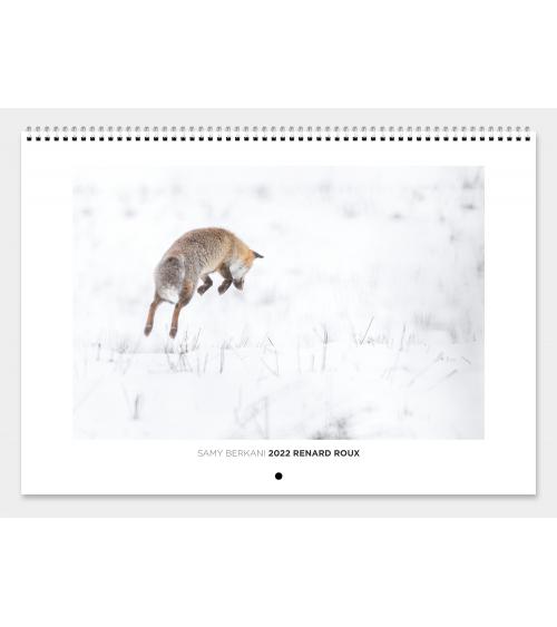 Calendrier renard roux 2022